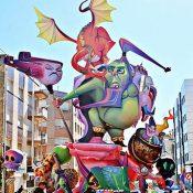 Les falles de Benicarló no seran Patrimoni de la Humanitat al ser considerades monuments catalans en comptes de valencians